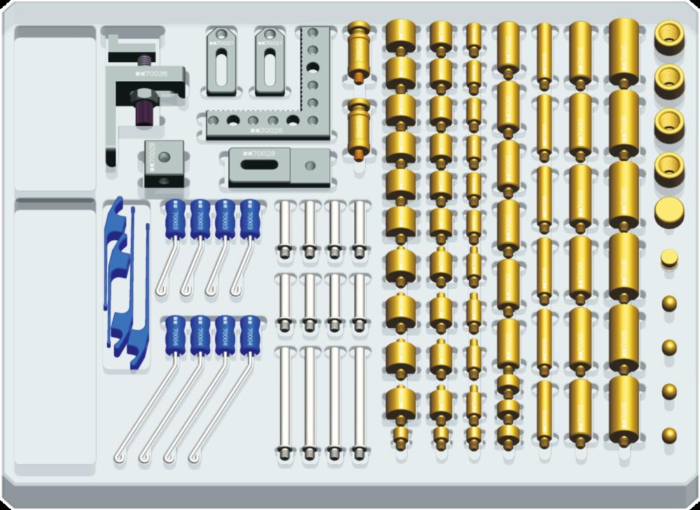 全闳弹性夹具系列固件B套装105件(M4)