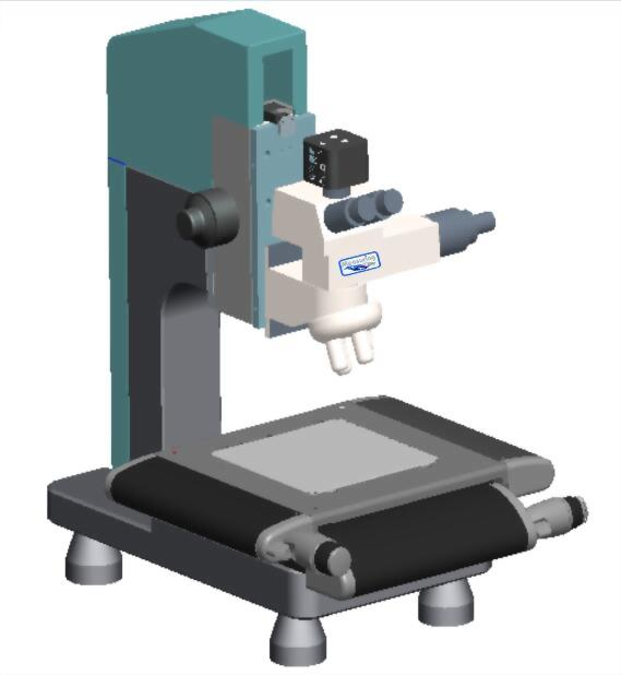 MTS 小型影像量测仪