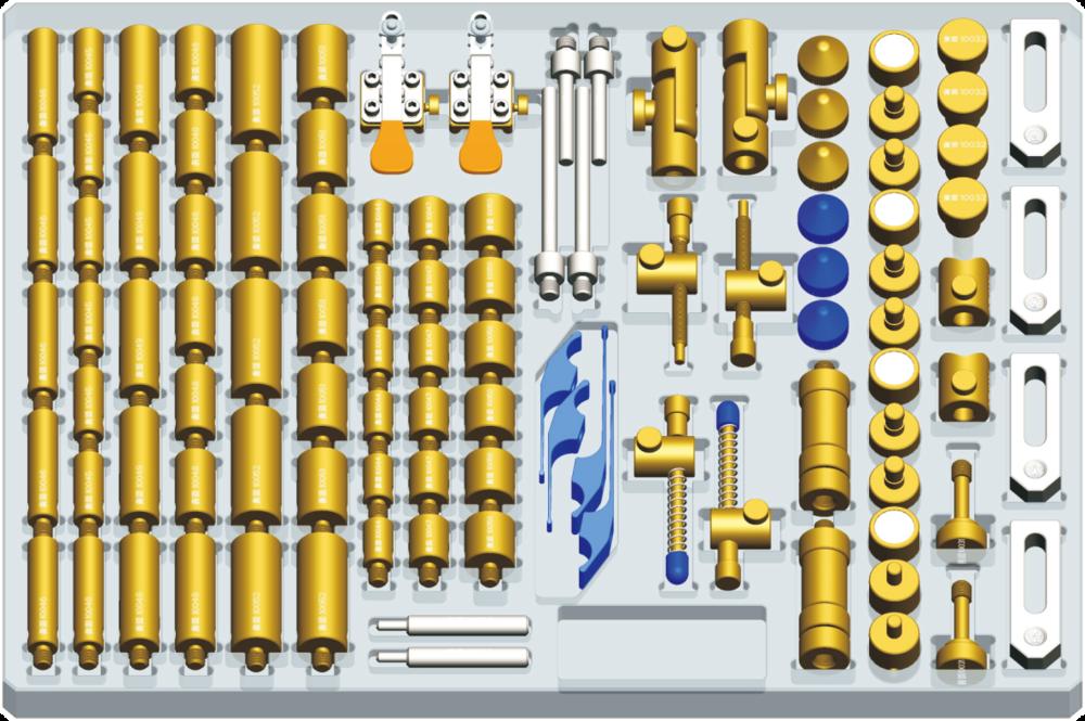 全闳夹具系列B套装:106件 (M8固件)