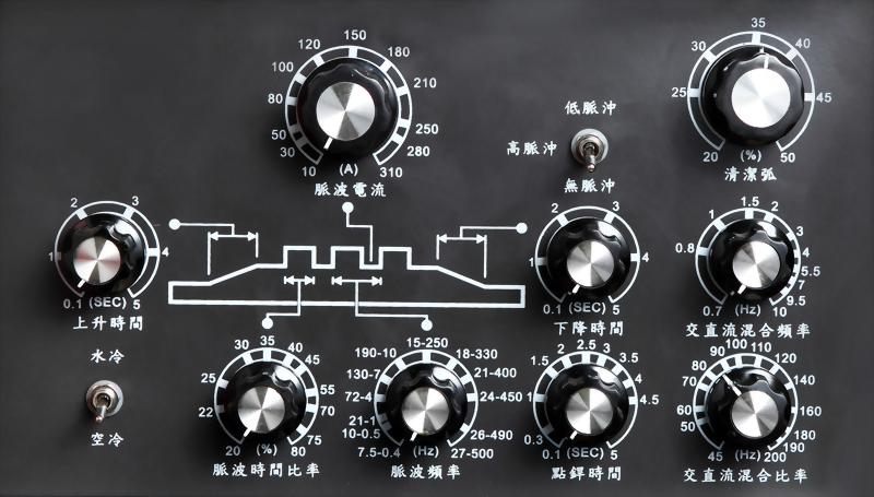 全功能脈波交直流變頻式氬焊機