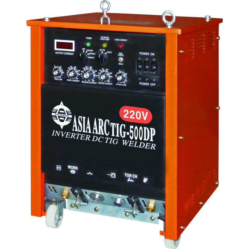 多功能變頻式直流氬焊機TIG-500DP