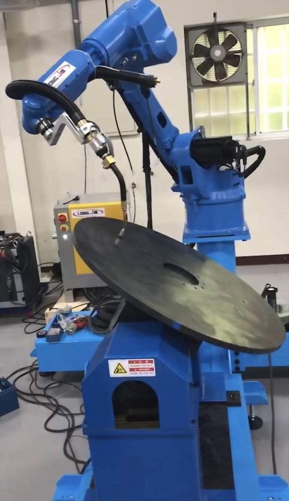 機器人同步協調外部軸