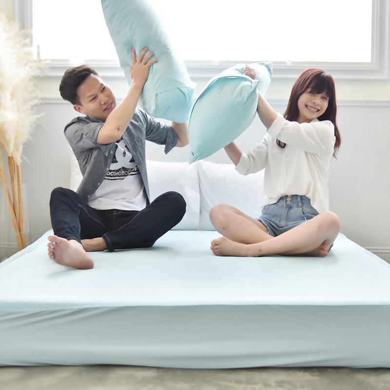 抗菌釋壓床包式涼感墊