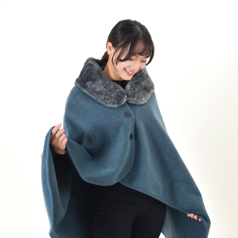 遠紅外線蓄熱保溫披毯