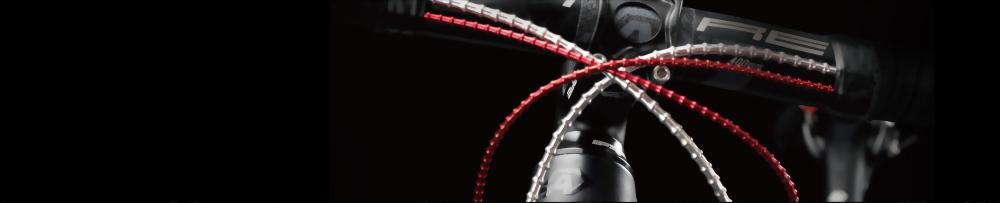 7 Color Mini Alligator I-Link 4MM Bike Shift Cable Set 31 strand Superior Shine