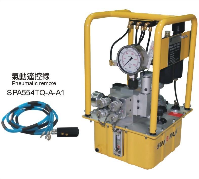 SPA-554TQ-Hydraulic Torque Wrench use Air Pump