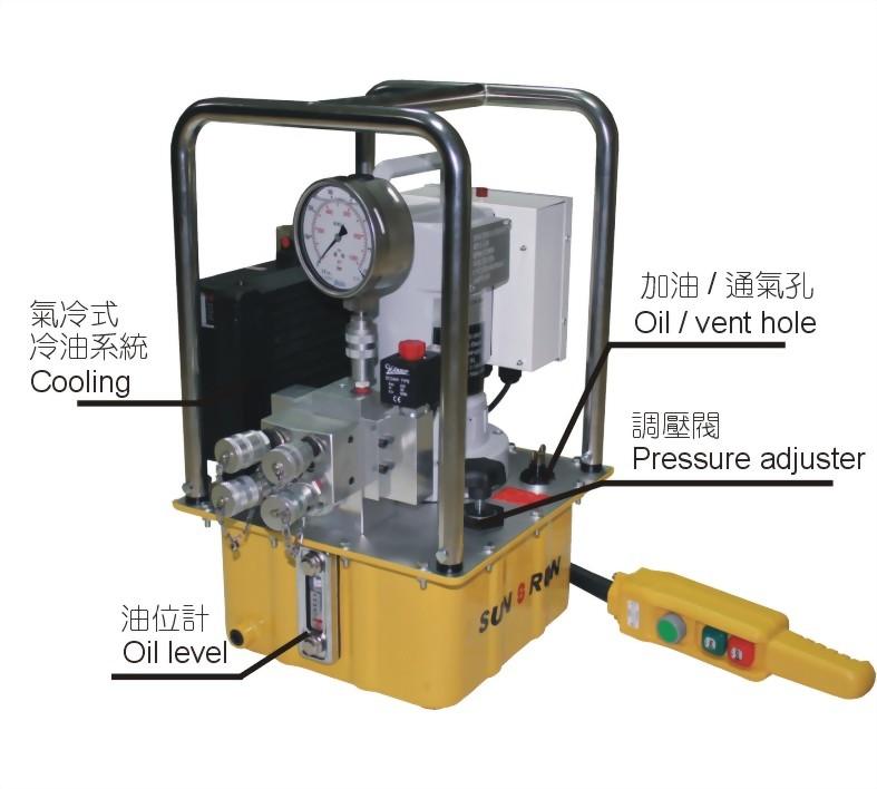 SPE-554TQ-扭力扳手專用油壓電動泵浦