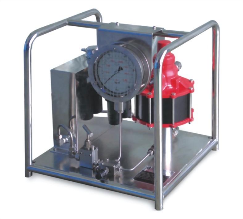 SPAQH-超高壓氣動泵浦