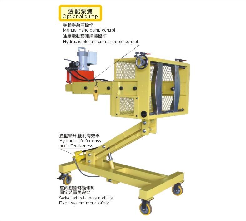 SPR-RSR5013E-移動式油壓拉拔器