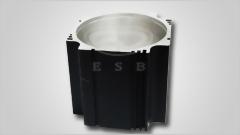伺服馬達零件/馬達鋁外殼/薄型工件