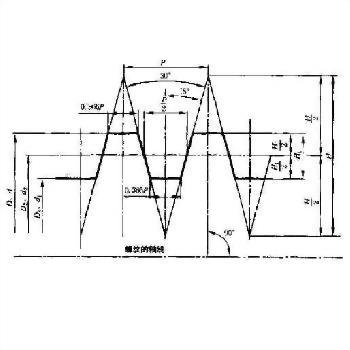 Tr_ISO_ Trapezoidal thread_spiral taps