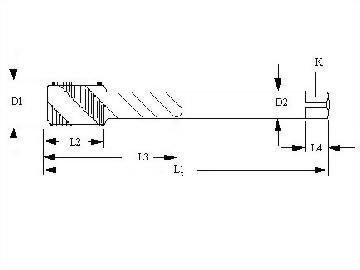 W,Whiteworth Thread,Spiral Flutes Taps,Welded Carbide