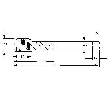 NPT_NPTF_PTF_NGT_Pipe Taper Thread,Spiral Flutes Taps,Cobalt HSS
