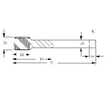 TW ACME STUB thread_HSS-CO_spiral flutes taps