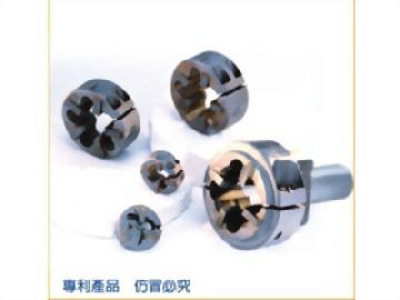 G,PF,BSPF,Rp,PS,Pipe Parallel Thread,welded Carbide Cutting Dies with shank holder