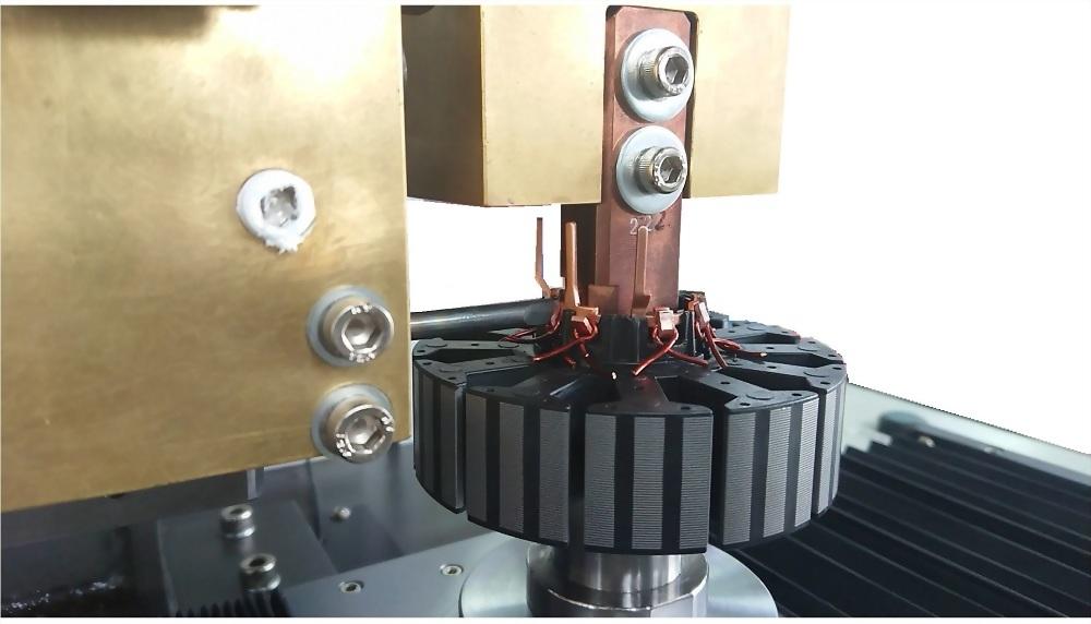 無刷馬達定子直壓式點焊機