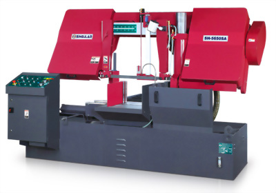 Semiautomatic Band Saw
