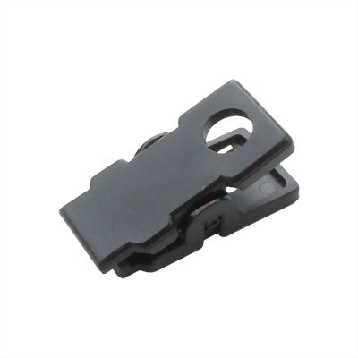 black-plastic-name-card-clip-a23
