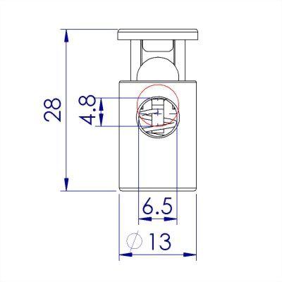 ji-horng-plastic-single-hole-cord-stopper-C1