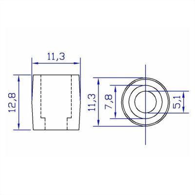 jh-plastic-barrel-cord-stopper-C101