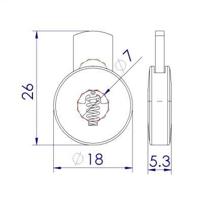 ji-horng-round-flat-plastic-cord-stopper-C13B