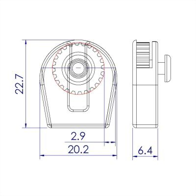 ji-horng-plastic-open-wheel-cord-stopper-C21