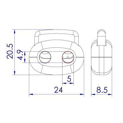 ji-horng-plastic-dual-cord-toggle-stopper-C22B