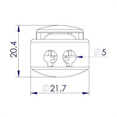 ji-horng-plastic-double-barrel-cord-stopper-C24A