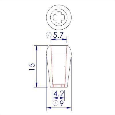 ji-horng-plastic-bell-cord-end-lock-C39