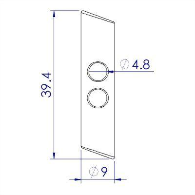 Cord Lock, toggle stopper, cord end lock, cord stopper, toggle clip