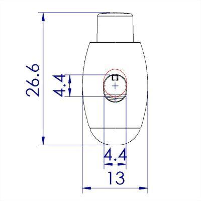 ji-horng-plastic-bowling-pin-cord-toggle-stopper-C83