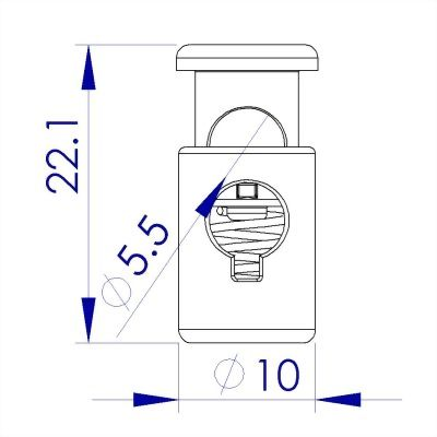 ji-horng-plastic-barrel-cord-toggle-stopper-Z82