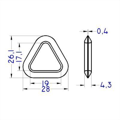 ji-horng-plastic-triangular-ring-D11