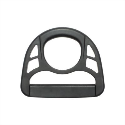 black-plastic-semi-circle-ring-with-hole-for-webbing-use-d50