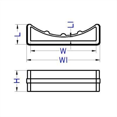 聚鴻-塑膠束帶調節扣-L7