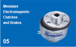 Miniature Electromagnetic Clutches and Brakes