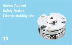Spring-Applied Safety Brakes - Electric Mobility Use