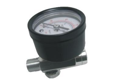 Air Flow Valve With Gauge