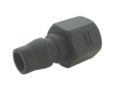 S1A日式塑膠接頭 - 內牙(公)