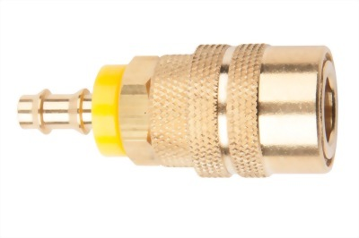 "1/4""BODY BRASS COUPLER(S20)"
