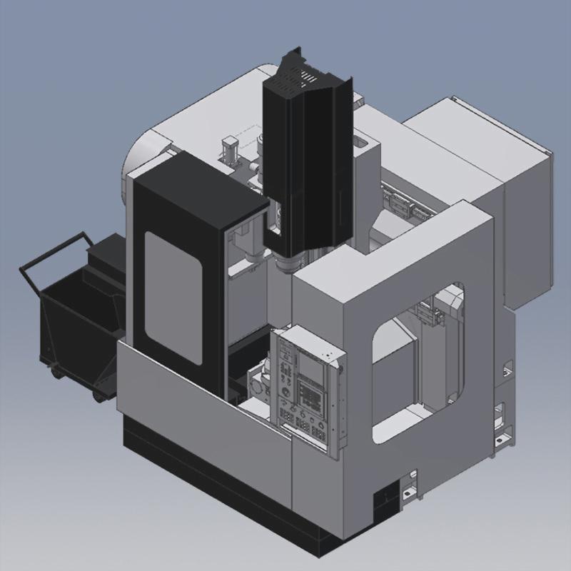 5 Axes Vertical Machining Center U-25
