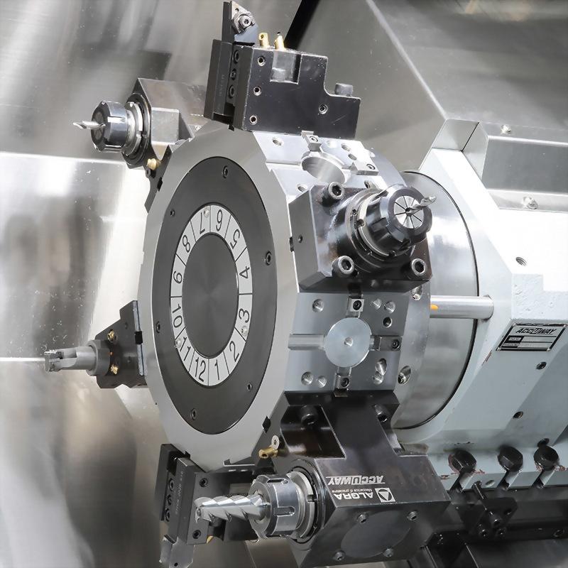 Slant Bed Linear Way CNC Lathe-JT-200M