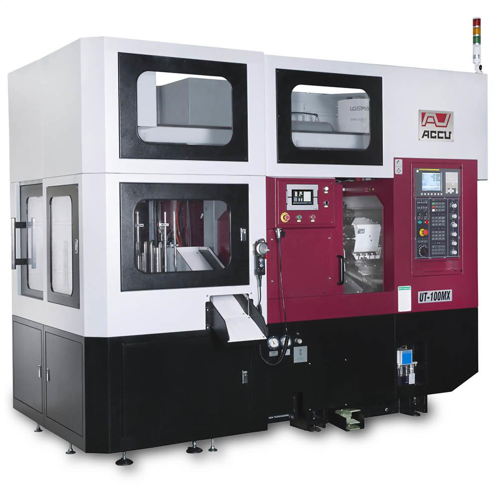 Compact CNC Lathe for Automatic Machining-UT-100MX