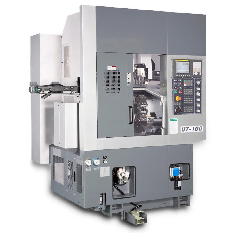 Compact CNC Lathe for Automatic Machining-UT-100