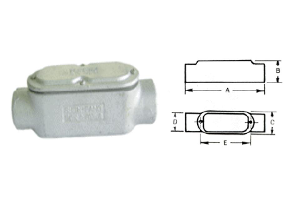 C型電管穿線匣、電管配件、穿線盒、電管管件、管件、接線盒