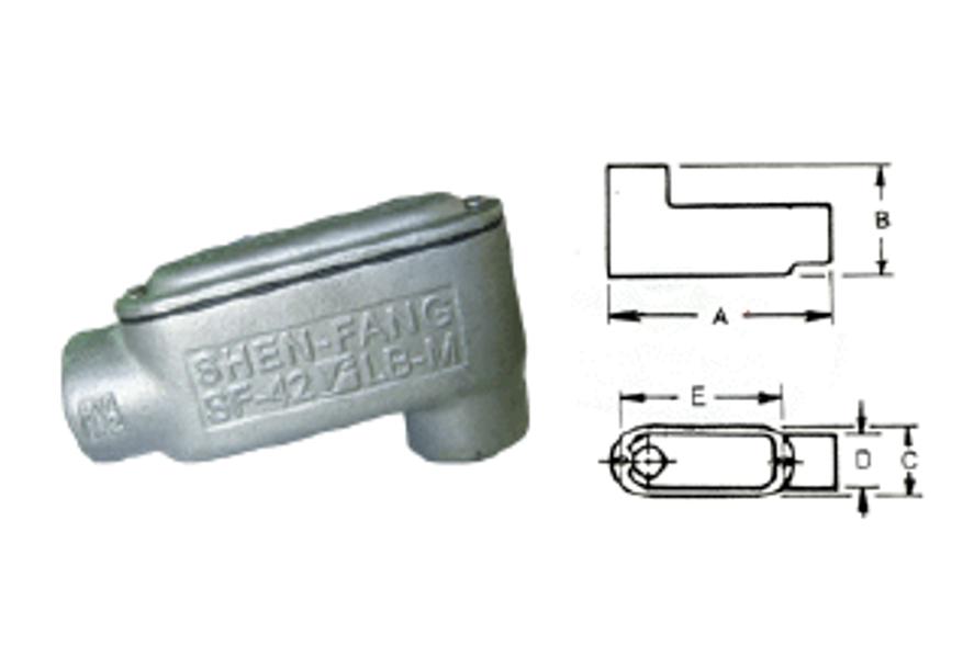 LB型電管穿線匣、電管配件、穿線盒、電管管件、管件