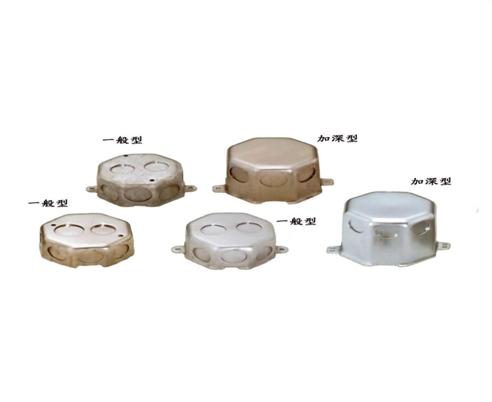 八角接線盒、穿線盒、電管管件、管件、接線盒