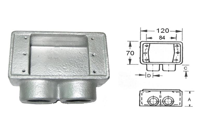 開關接線盒、電管配件、穿線盒、電管管件、管件、接線盒