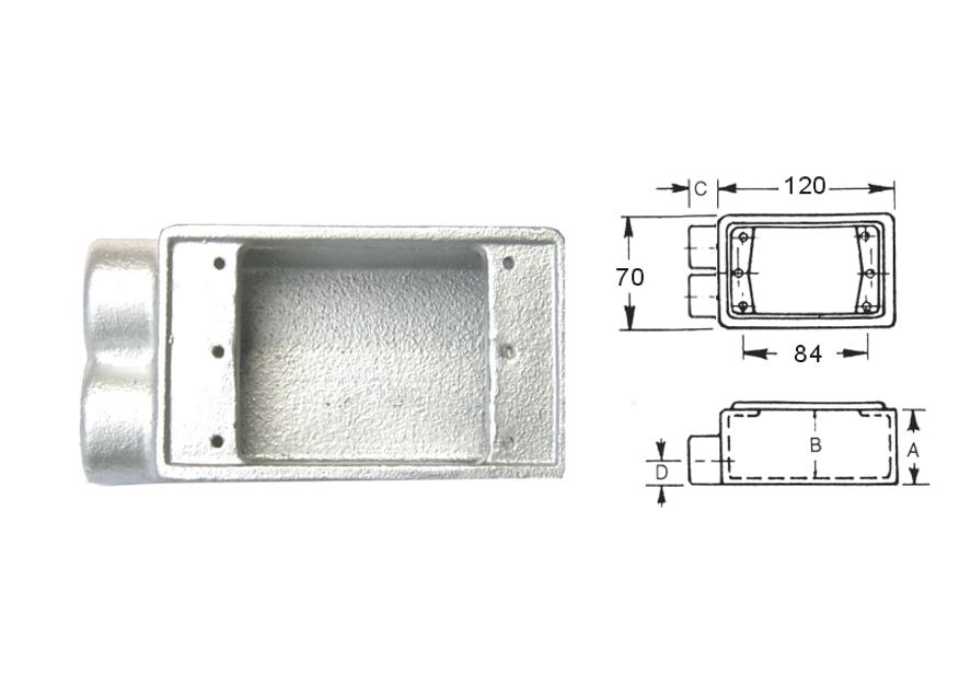 FS型 - 開關接線盒