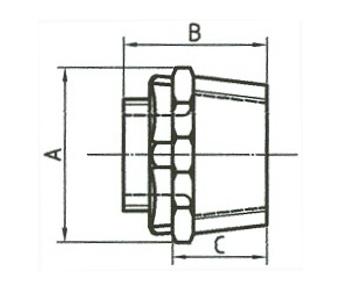 內外牙接線箱接頭、防爆管件、電管管件、電管、電線導管、接頭、電管配件、穿線盒、電管管件、電管